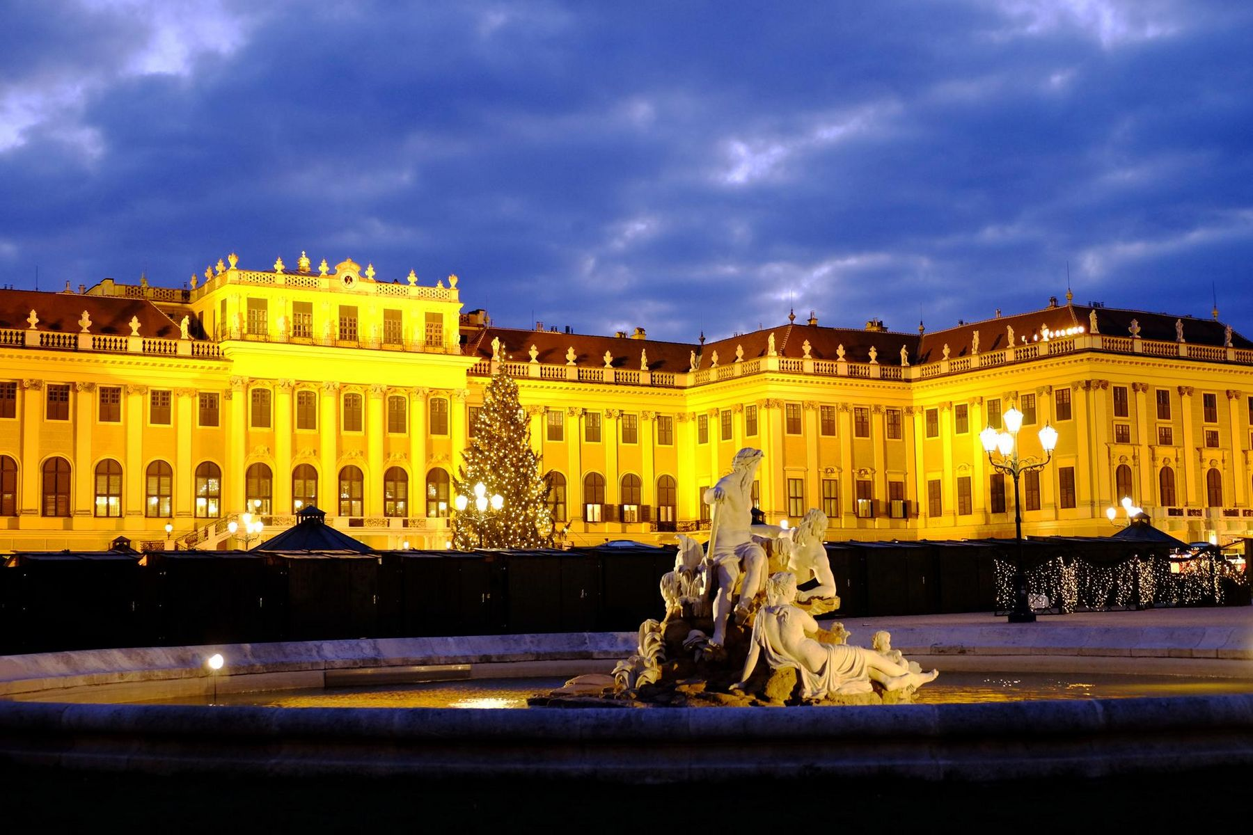 Advent Schloss Schönbrunn