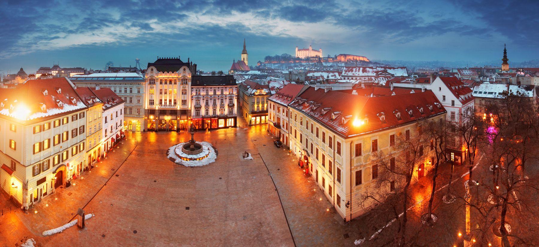 Bratislava im Winter
