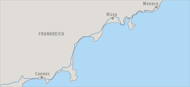 Karte FranzoesischeRiviera 01