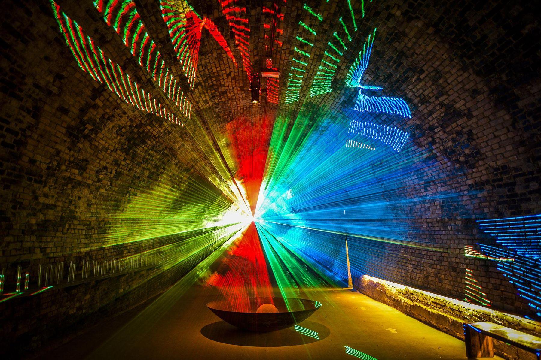 LOISIUM Weinerlebniswelt Lasershow POV Robert Herbst 2