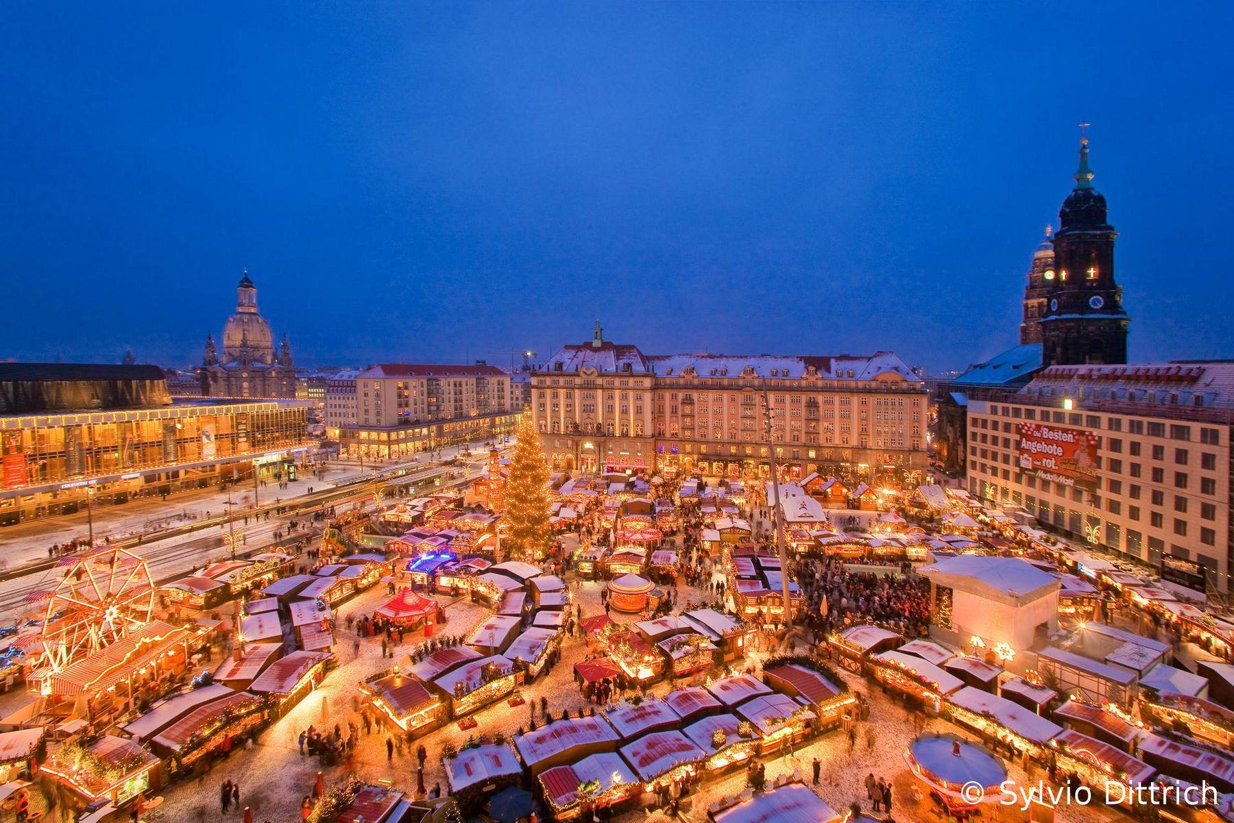 Striezelmarkt in Dresden