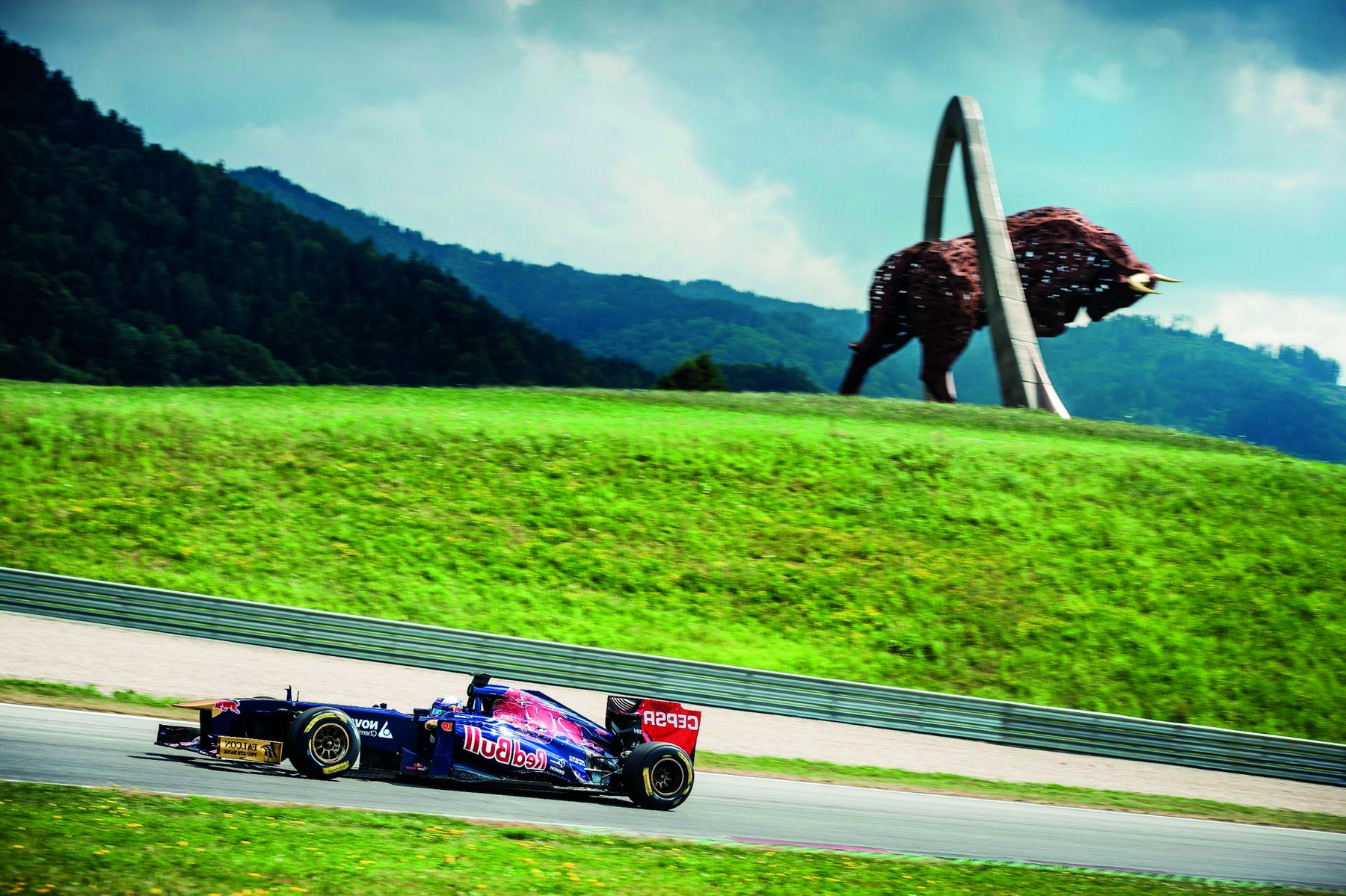 Torro Rosso am Red Bull Ring c Philip Platzer 1