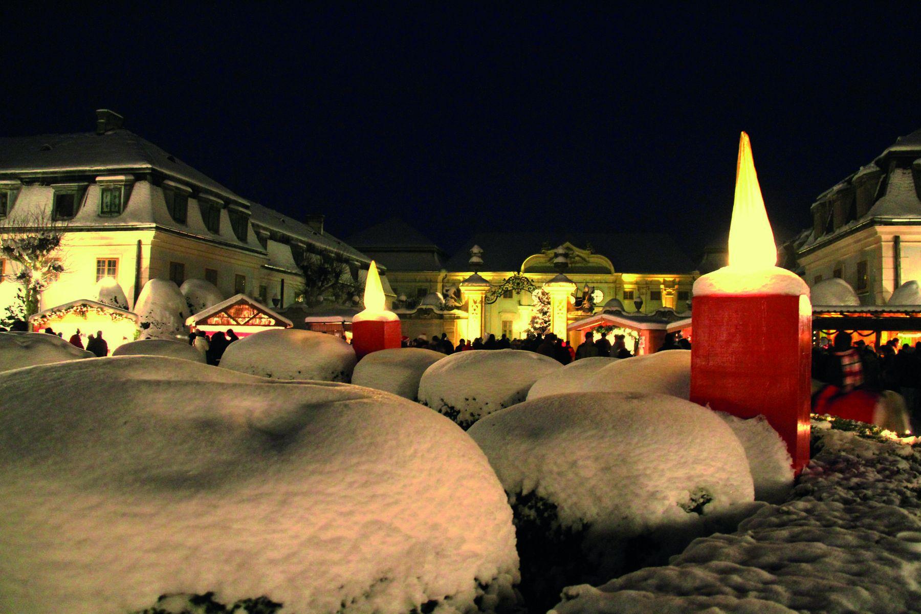 Schloss Halbturn Weihnachtsmarkt