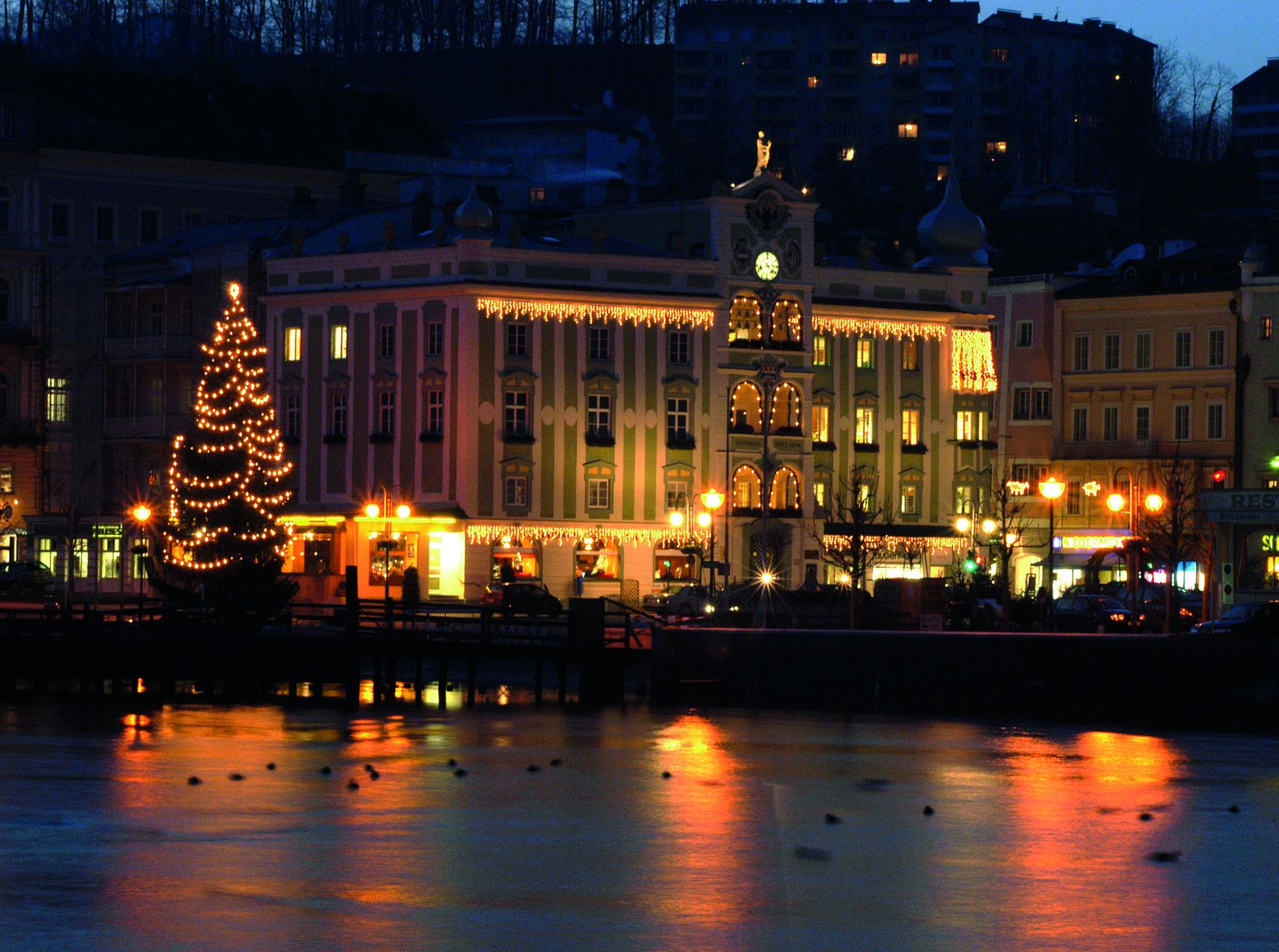 Advent am Traunsee
