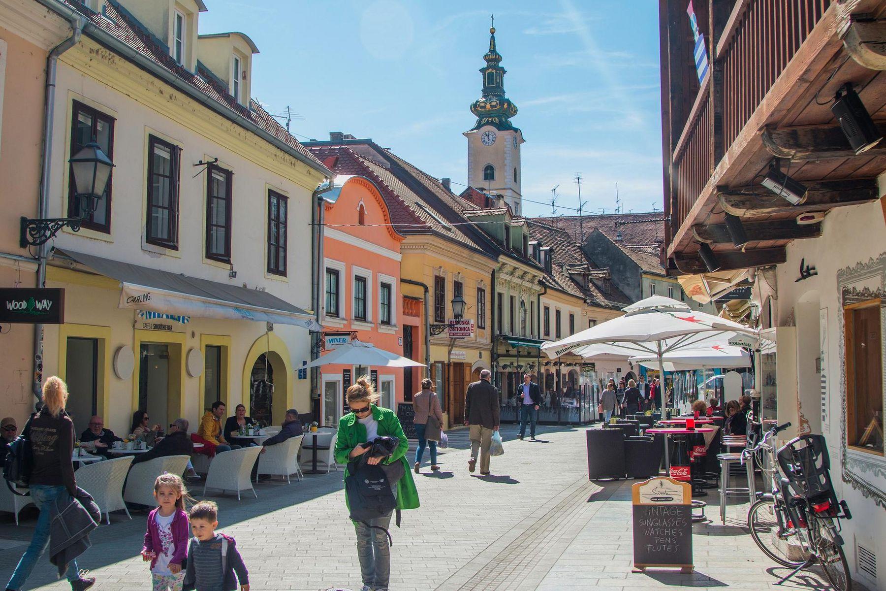 Zagreb gassen 1